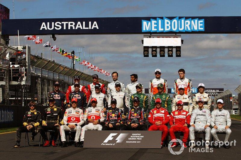Photo de groupe de début de saison 2011