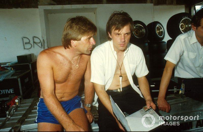 Manfred Winkelhock and Gustave Brunner