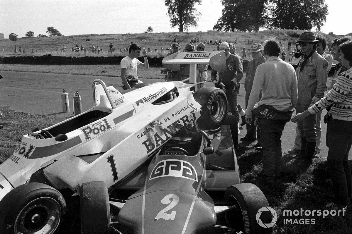 Oulton Park 1983: Senna vs. Brundle