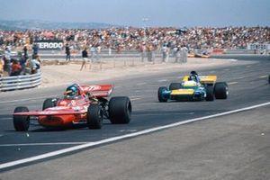 Ronnie Peterson, March 711 Ford, Graham Hill, Brabham BT34 Ford, GP di Francia del 1971