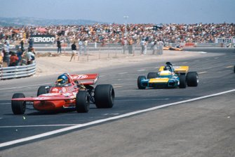 Ronnie Peterson, March 711 Ford, Graham Hill, Brabham BT34 Ford, GP di Francia del 1971