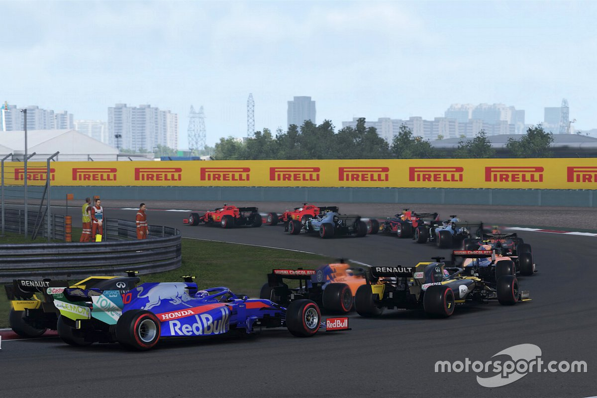 GP de China virtual de F1