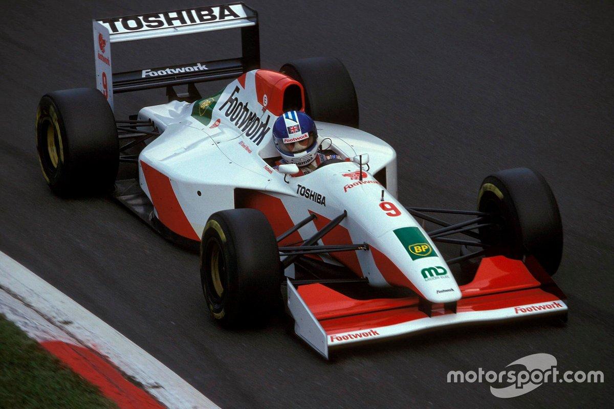 Derek Warwick, Footwork FA14 Mugen-Honda