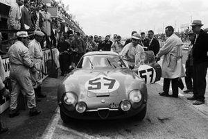 Roberto Bussinello, Bruno Deserti, Scuderia St. Ambroeus, Alfa Romeo Giulia TZ