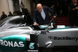 Sir Stirling Moss and the Mercedes AMG F1 W06