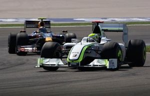 Jenson Button, Brawn GP BGP001 Mercedes