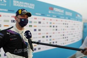 Maximilian Gunther, BMW I Andretti Motorsports talks to the press