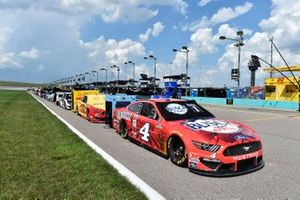 Kevin Harvick, Stewart-Haas Racing, Busch Light Apple Ford Mustang