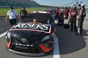 Erik Jones, Joe Gibbs Racing, Reser's Fine Foods Toyota Camry, jefe de equipo Chris Gayle