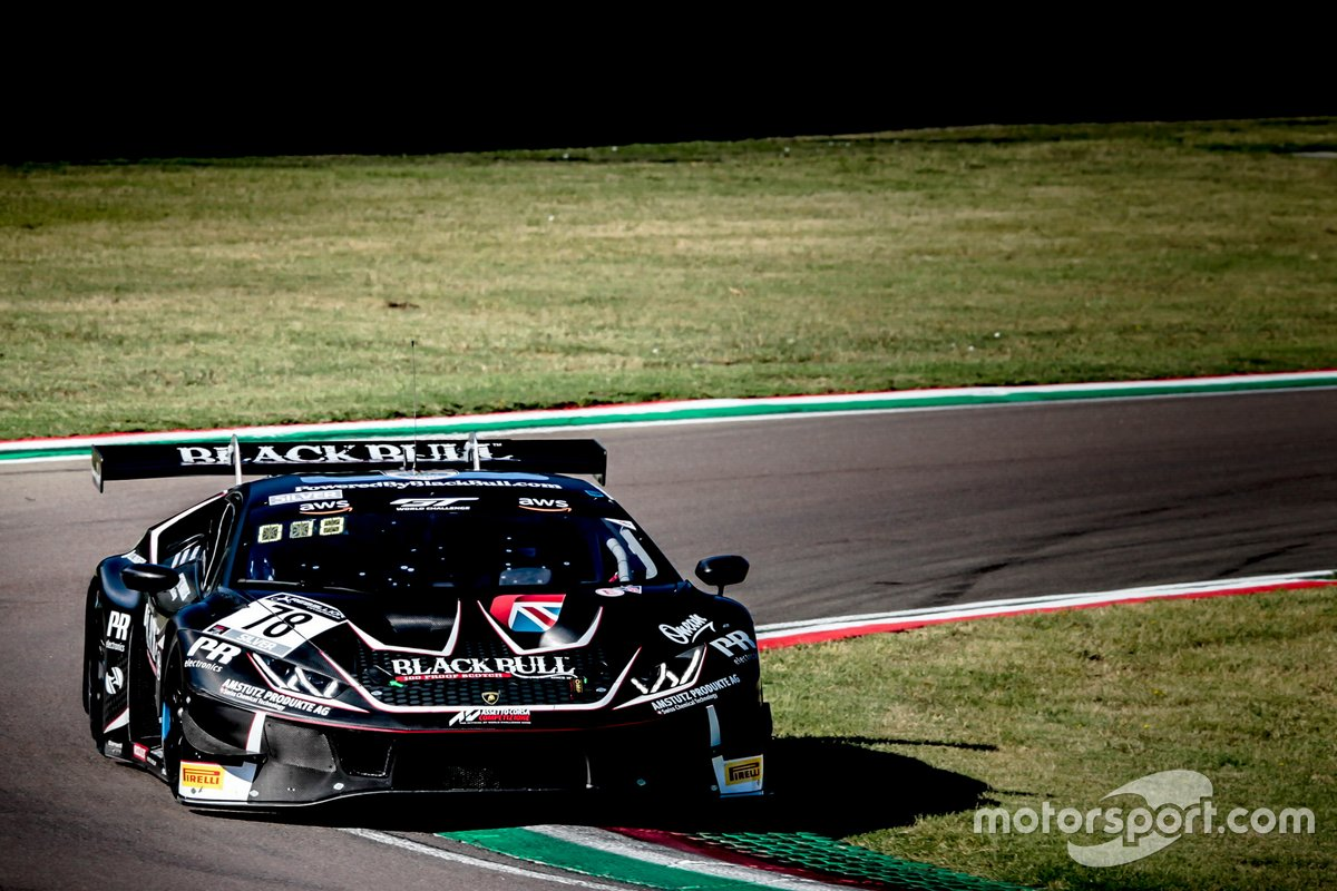 #78 Barwell Motorsport Lamborghini Huracan GT3 Evo: Frederik Schandorff, Alex Macdowall, Patrick Kujala