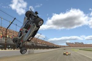 Will Power, Team Penske, crash