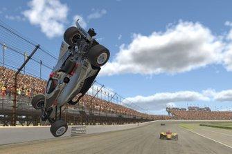 Will Power, Team Penske, crash