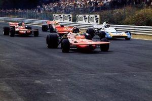 Andrea de Adamich, March 711 Alfa Romeo, Chris Amon, Matra MS120B, Mike Beuttler, March 711 Ford, Nanni Galli, March 711 Alfa Romeo