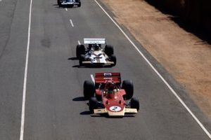 Emerson Fittipaldi, Lotus 72C Ford, Pedro Rodriguez, British Racing Motors P160
