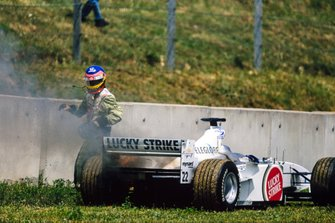 Jacques Villeneuve, BAR 002 Honda, se retira