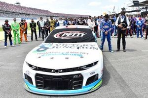 Darrell Wallace Jr., Richard Petty Motorsports, Chevrolet Camaro Victory Junction y Richard Petty