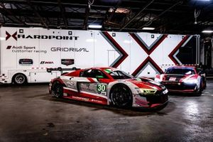 Team Hardpoint, Audi R8 LMS GT3 #30, Audi R8 LMS GT4 #31