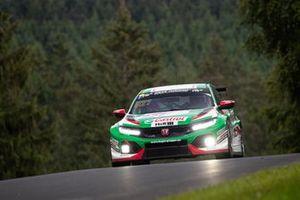 #821 Fugel Team Honda Civic TCR:- Dominik Fugel, Mike Halder