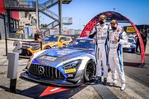 Race winner #88 AKKA ASP Mercedes-AMG GT3: Тимур Богуславский, Раффаэле Марчелло