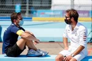 Robin Frijns, Virgin Racing anDrivers Jean-Eric Vergne, DS Techeetah