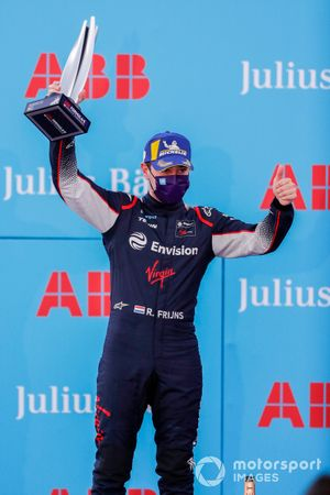 Robin Frijns, Envision Virgin Racing, secondo posto