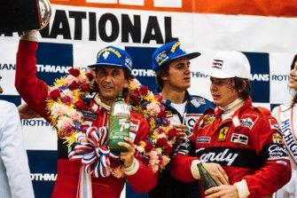 John Watson, McLaren, Eddie Cheever, Ligier, Didier Pironi, Ferrari