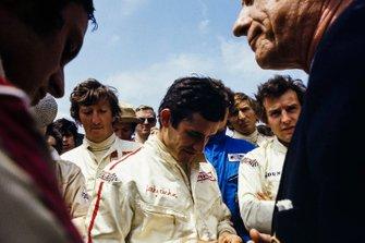 Jochen Rindt, Jacky Ickx, Derek Bell y Jackie Oliver
