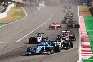 Маттео Наннини, Jenzer Motorsport, Себастьян Фернандес, ART Grand Prix и Александр Смоляр, ART Grand Prix