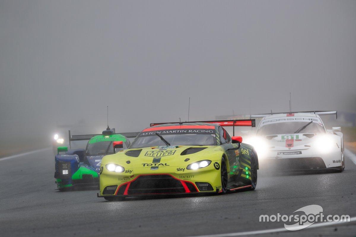 #95 ASTON MARTIN RACING - Aston Martin Vantage AMR: Marco Sørensen, Nicki Thiim