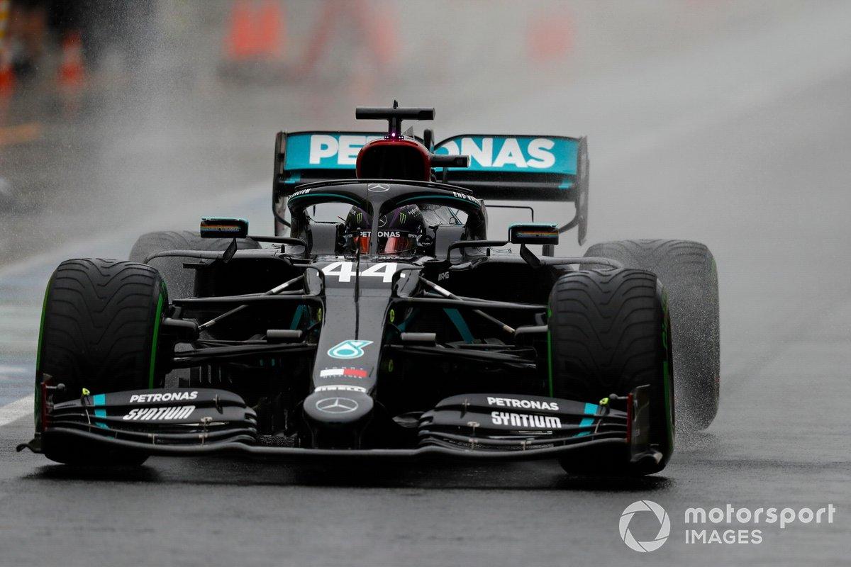 Lewis Hamilton, Mercedes F1 W11 EQ