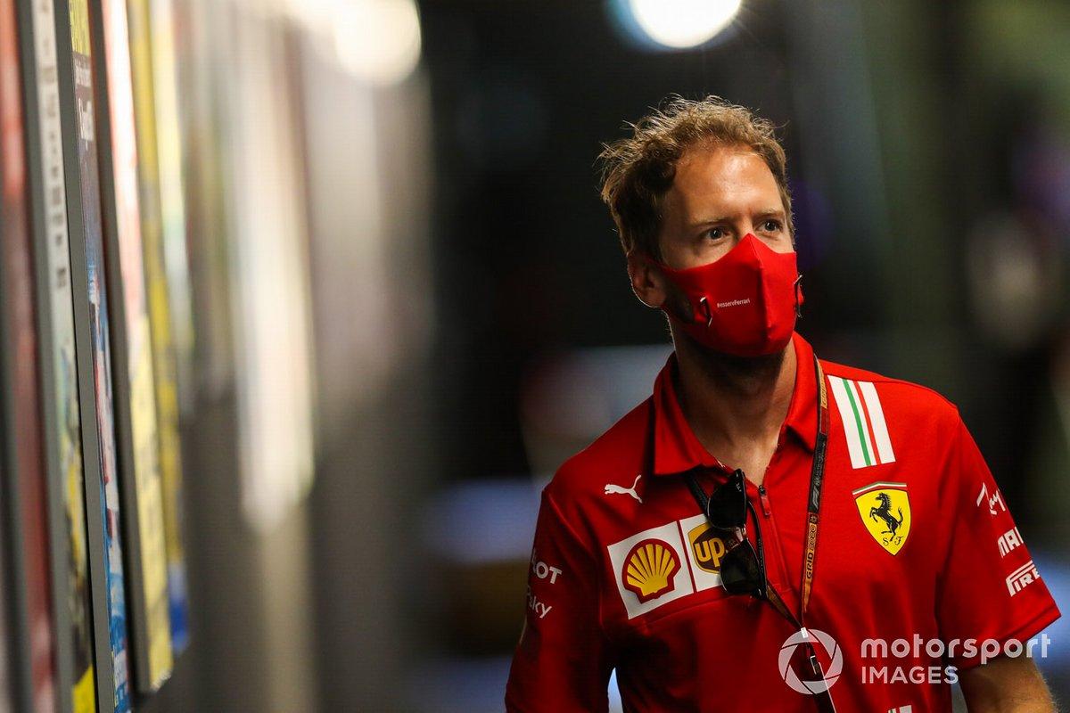 Sebastian Vettel, Ferrari, 5 puan