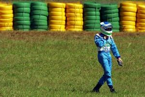 Giancarlo Fisichella, Benetton Renault walks back