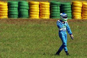 Giancarlo Fisichella, Benetton Renault regresa caminando