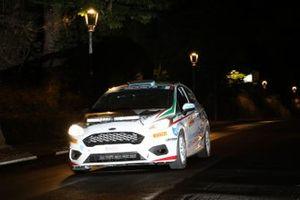 Andrea Mazzocchi, Silvia Gallotti, Leonessa Corse, Ford Fiesta Rally4