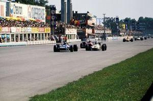 Jackie Stewart, Tyrrell Racing Organisation March 701, Jackie Oliver, BRM P153