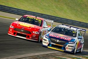 Shane van Gisbergen, Triple Eight Race Engineering, Scott McLaughlin, DJR Team Penske