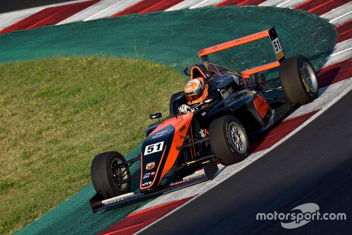 Francesco Pizzi, Van Amersfoort Racing N