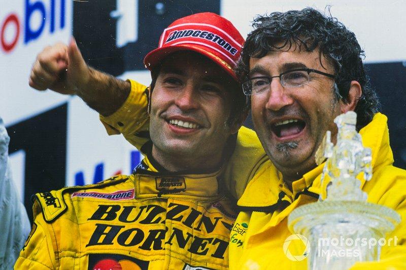 Heinz-Harald Frentzen, Jordan Mugen Honda 199, Eddie Jordan, Team Principal, Jordan Grand Prix
