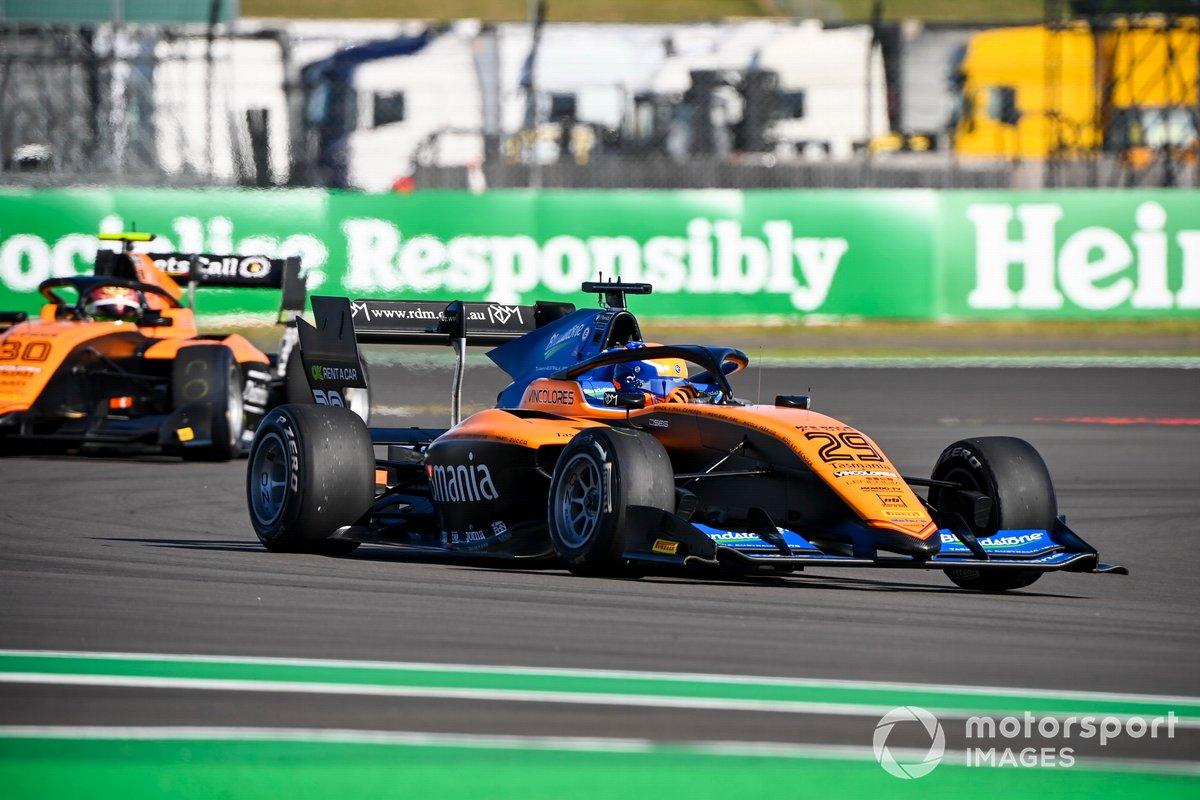 Alexander Peroni, Campos Racing and Alessio Deledda, Campos Racing