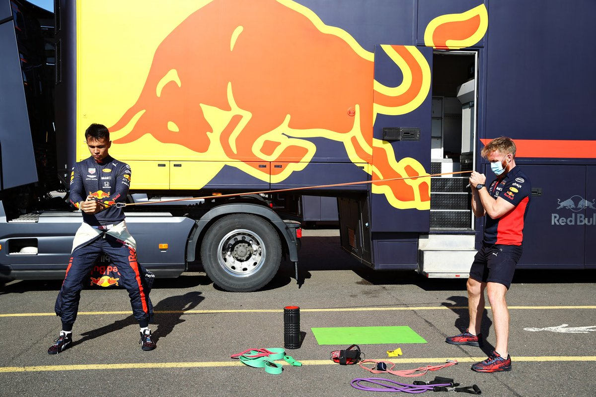 Alex Albon, Red Bull Racing
