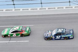 #6: Ryan Newman, Roush Fenway Racing, Ford Mustang Castrol, Corey LaJoie, Go FAS Racing, Ford Mustang WallStBookie.com
