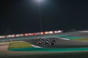 Moto2-Action in Doha