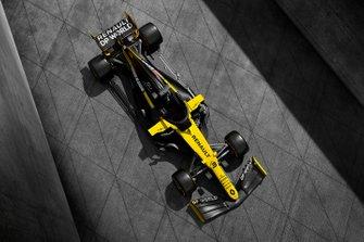 Renault F1 Team R.S.20 renk düzeni