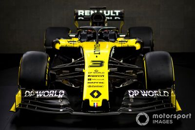 Renault livery unveil