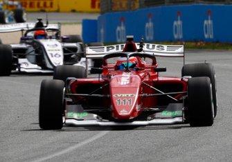 Rubens Barrichello, Team BRM leads Jack Aitken, Team BRM