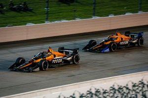Pato O'Ward, Arrow McLaren SP Chevrolet and Oliver Askew, Arrow McLaren SP Chevrolet