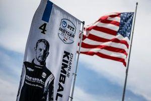 Flagge: Charlie Kimball, A.J. Foyt Enterprises Chevrolet