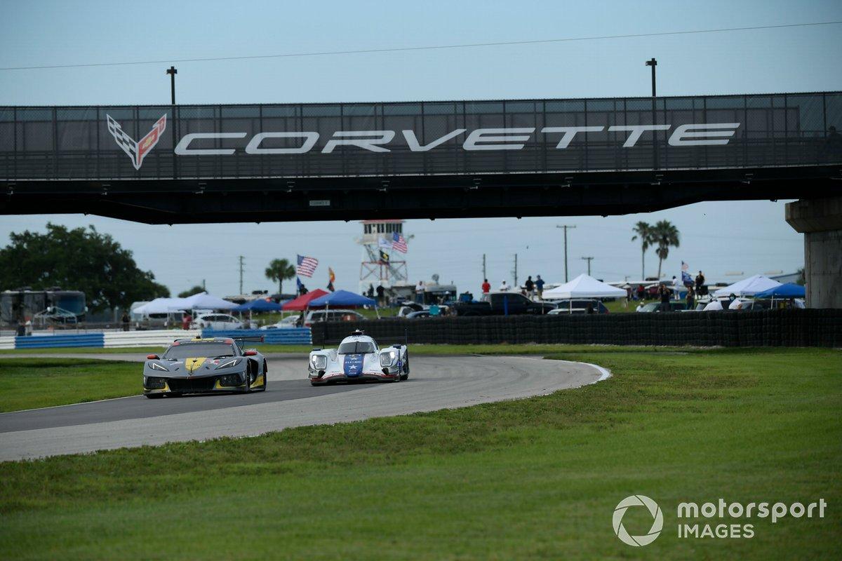 #4 Corvette Racing Corvette C8.R, GTLM: Oliver Gavin, Tommy Milner, #81 DragonSpeed USA ORECA LMP2 07, LMP2: Henrik Hedman, Gustavo Menezes