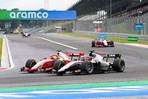 Mick Schumacher, Prema Racing and Nikita Mazepin, Hitech Grand Prix