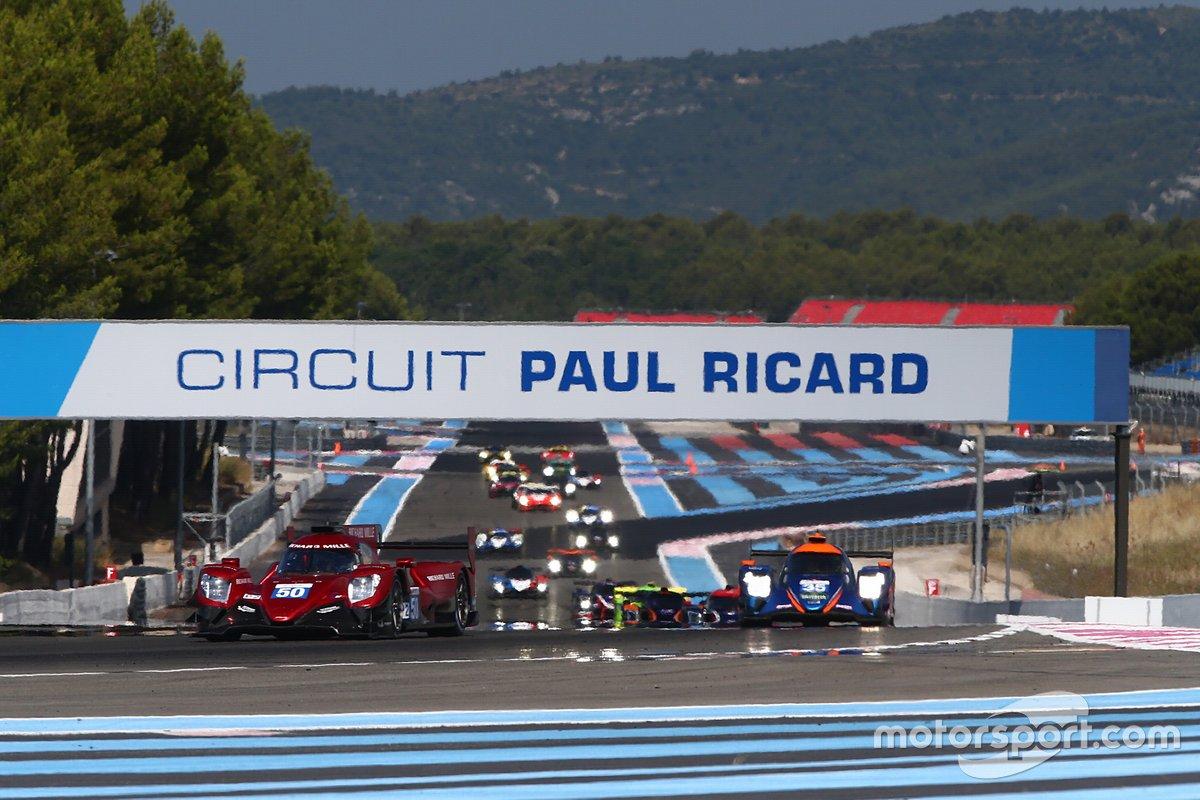 #50 Richard Mille Racing Team Oreca 07 - Gibson: Tatiana Calderon, Andre Negrao